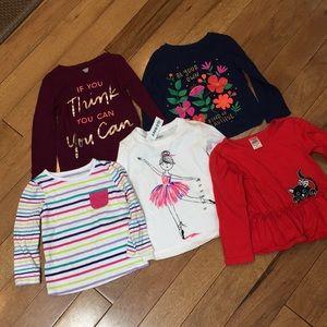 5 long sleeve shirts